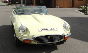 1972 Jaguar E-Type Series 3 Roadster For Sale by Auction