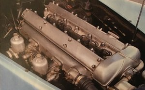 1961 JAGUAR EARLY RARE ALLOY CAM COVERS