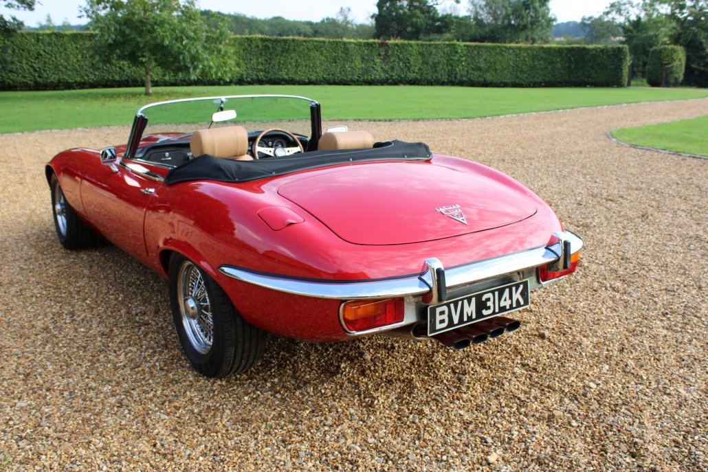 1971 JAGUAR E TYPE SERIES 3 V12 - £164,950 For Sale (picture 4 of 16)