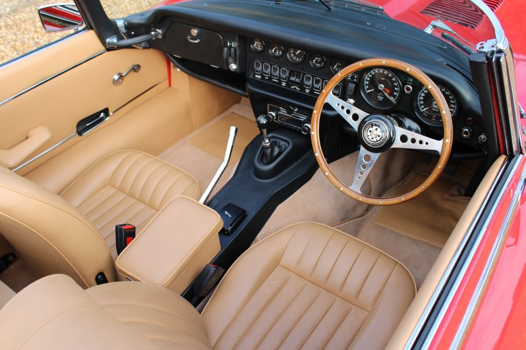 1971 JAGUAR E TYPE SERIES 3 V12 - £164,950 For Sale (picture 9 of 16)