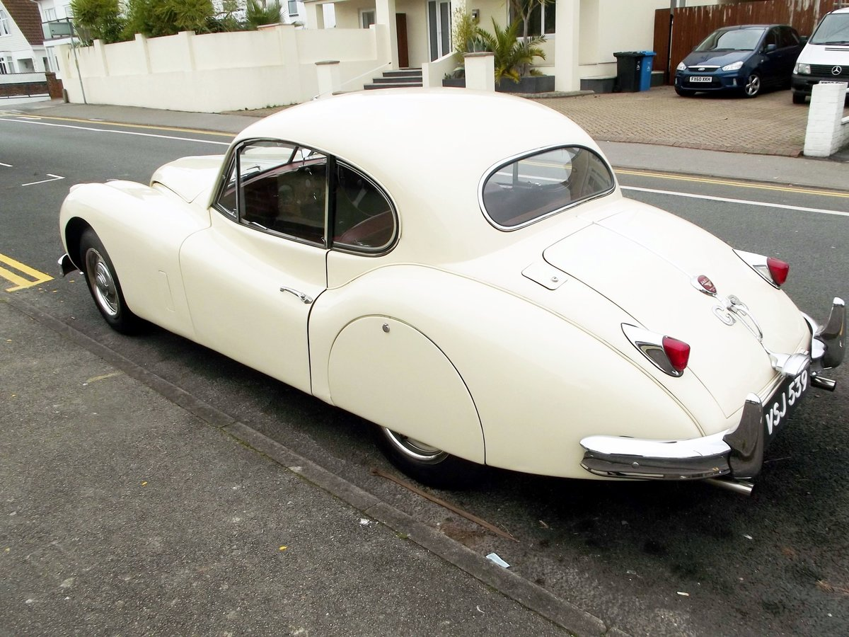 1956 JAGUAR XK140SE FIXED HEAD COUPE (manual with overdrive) For Sale (picture 2 of 6)