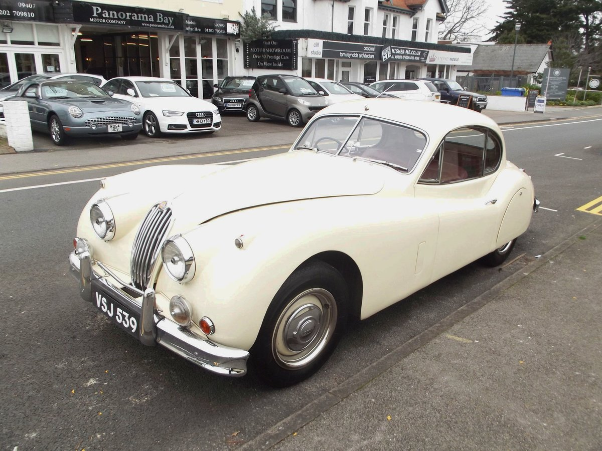 1956 JAGUAR XK140SE FIXED HEAD COUPE (manual with overdrive) For Sale (picture 3 of 6)
