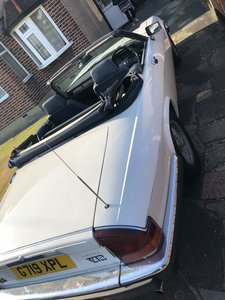 1989 XJS V12, White Convertible,  MOT Aug 2020