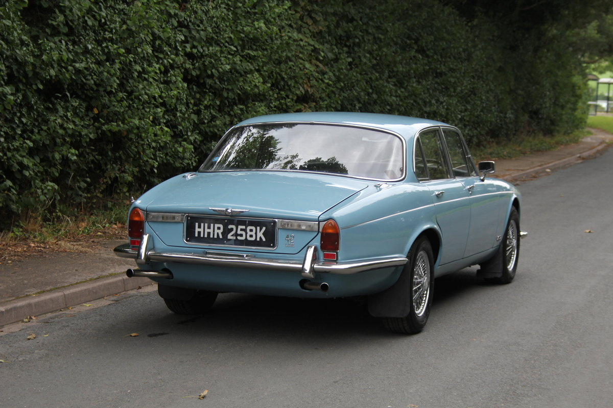 1972 Jaguar XJ6 Series I 4.2 Manual with Overdrive - Low miles For Sale (picture 6 of 21)