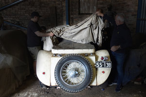 1936 Super rare SS100 Barn Find, owned for 60 years, race history