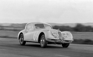 1954 JAGUAR XK120 COUPÉ For Sale by Auction