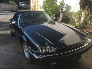 1990 Jaguar XJS Convertible  For Sale by Auction