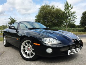 2003 Super low mileage Jaguar XKR 4L Coupe For Sale