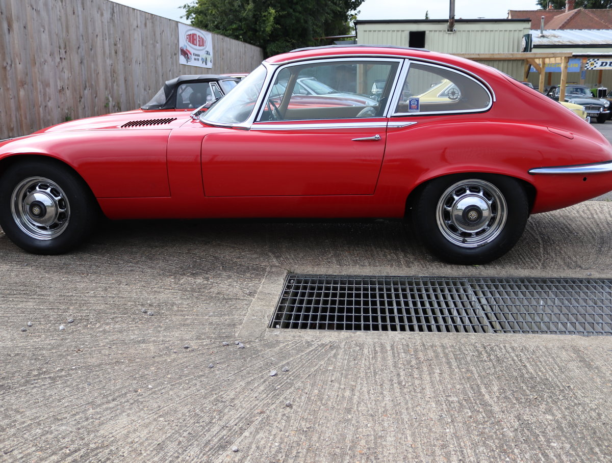 1973 Jaguar E Type v12, UK Car, Automatic,Full sunroof For Sale (picture 4 of 6)