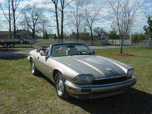 1995 Jaguar XJS Convertible Celebration Edition  For Sale by Auction