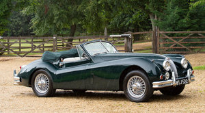 1956 JAGUAR XK140 DROPHEAD COUPÉ For Sale by Auction