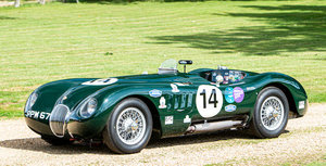 1951 JAGUAR C-TYPE RE-CREATION For Sale by Auction