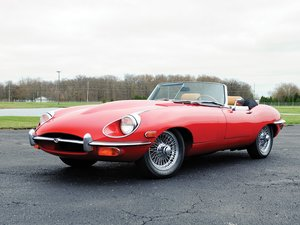 1969 Jaguar E-Type Series 2 4.2-Litre Roadster  For Sale by Auction