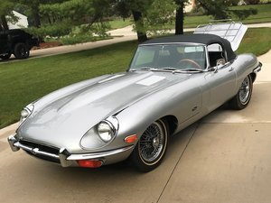 1971 Jaguar E-Type Series 2 4.2-Litre Roadster  For Sale by Auction