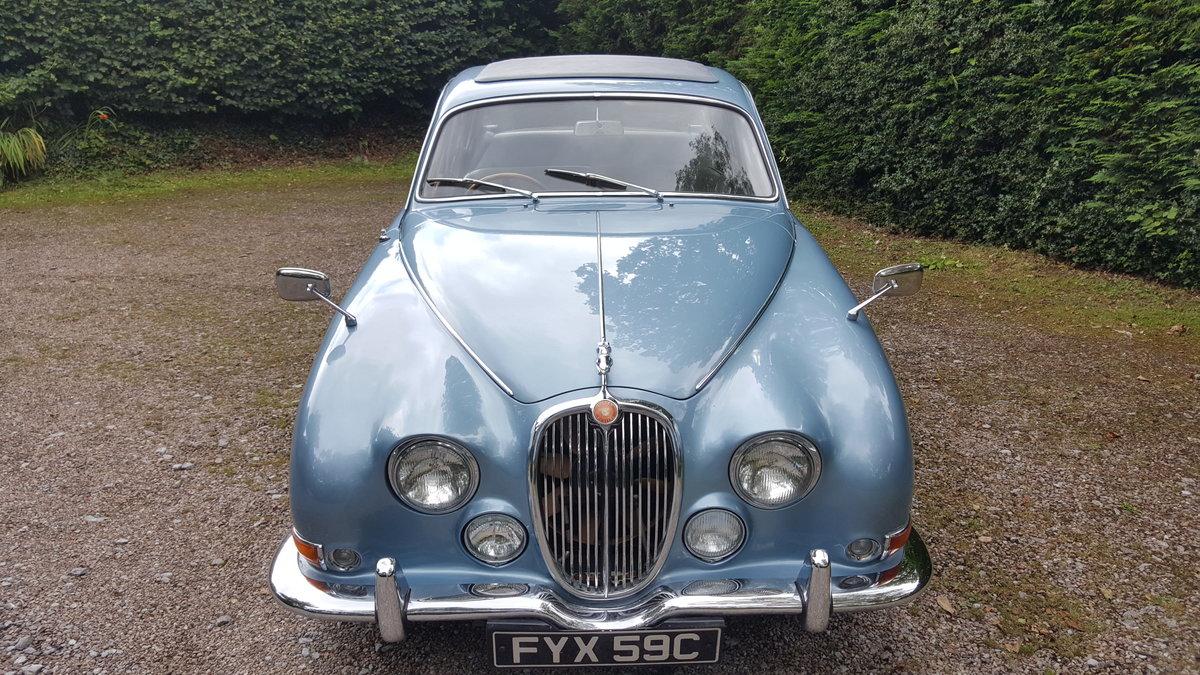 1965 Jaguar S type 3.4 auto  SOLD (picture 5 of 6)