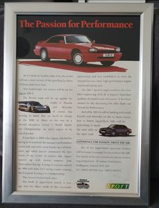 1989 Original Jaguar XJR advert