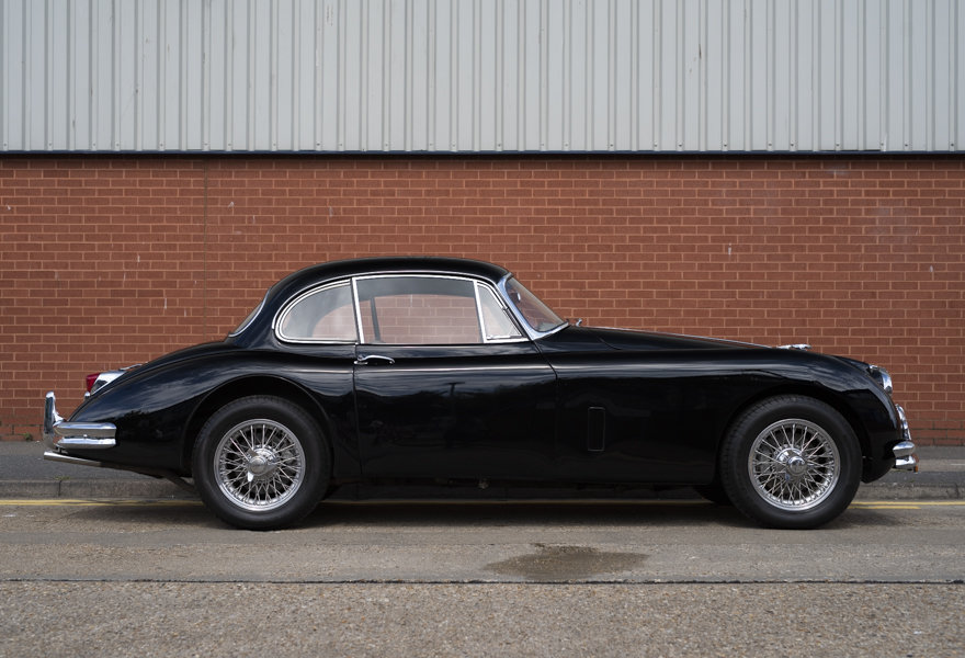 1958 Jaguar XK 150 FHC Fast Road Spec for sale in London(RHD) For Sale (picture 5 of 24)
