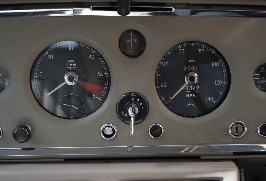 1958 Jaguar XK 150 FHC Fast Road Spec for sale in London(RHD) For Sale (picture 21 of 24)