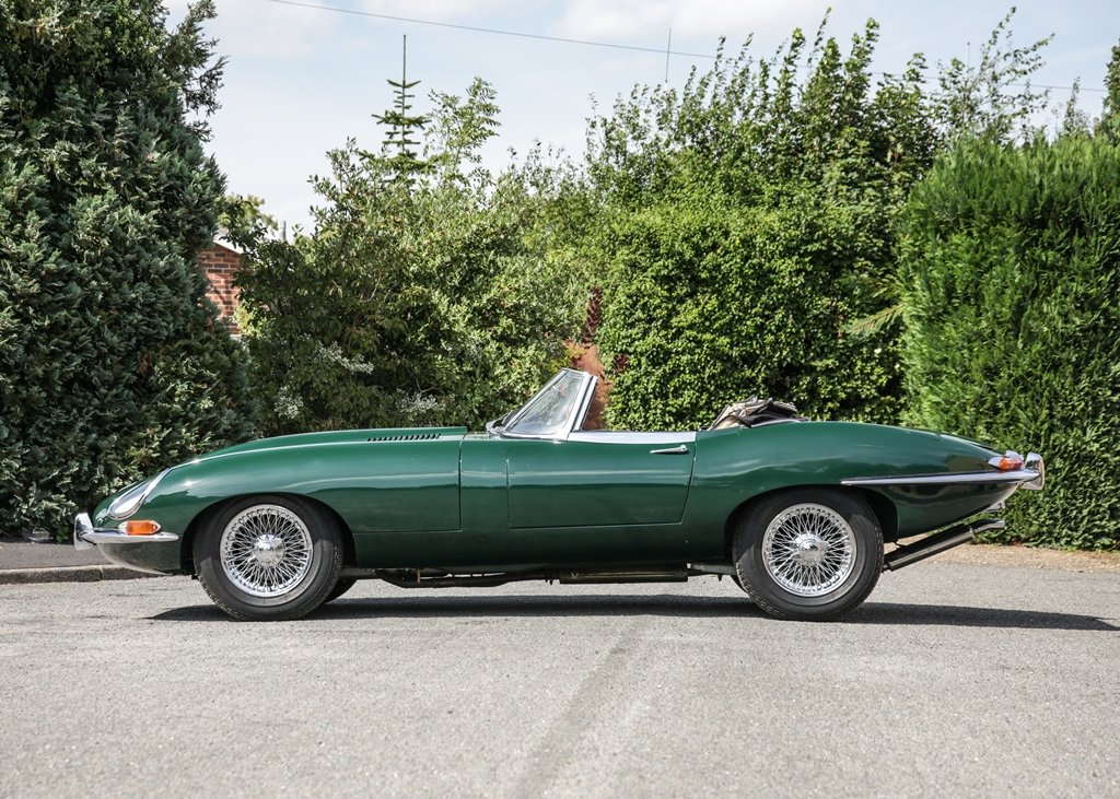 1962 Jaguar E-Type Series I Roadster SOLD by Auction (picture 1 of 6)