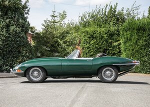 1962 Jaguar E-Type Series I Roadster SOLD by Auction