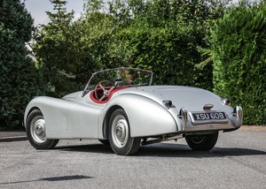 1952 Jaguar XK120 Roadster SOLD by Auction