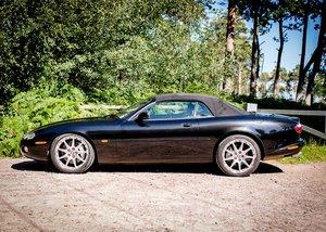2001 Jaguar XKR 100 SOLD by Auction