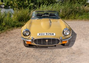 1973 Jaguar E-Type Series III V12 Roadster For Sale by Auction