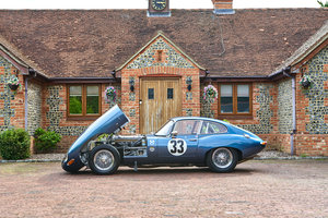 1963 Jaguar 3.8 Series 1 E-Type FHC FIA Competition Car