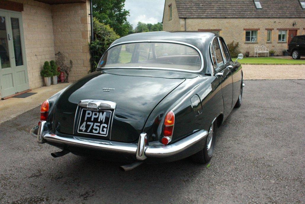 1968 JAGUAR S TYPE - 72,000 MILES For Sale (picture 2 of 19)