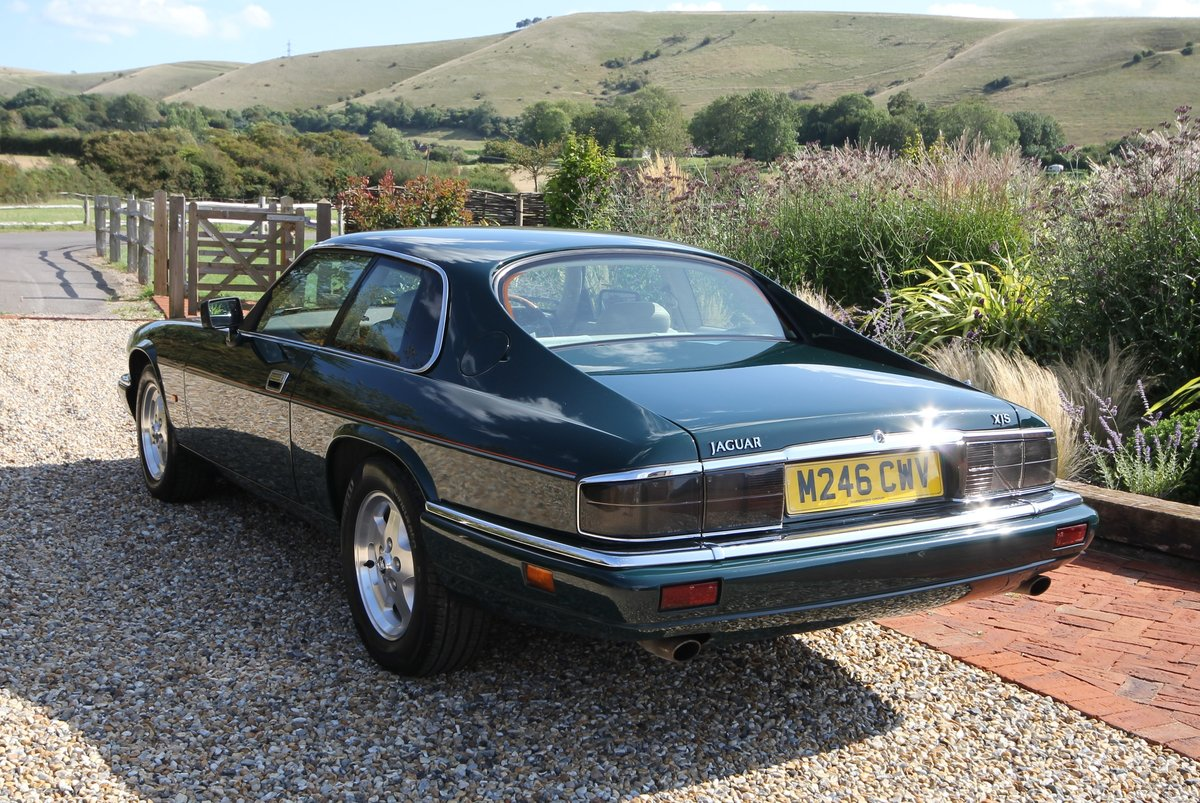1995 Jaguar XJS 4.0 Coupe Low Mileage For Sale (picture 2 of 6)