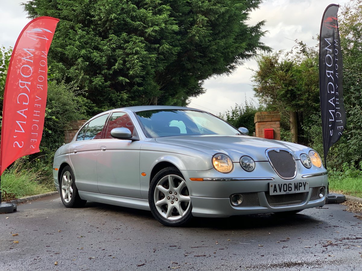JAGUAR S-TYPE V6 AUTO 2006  For Sale (picture 1 of 6)