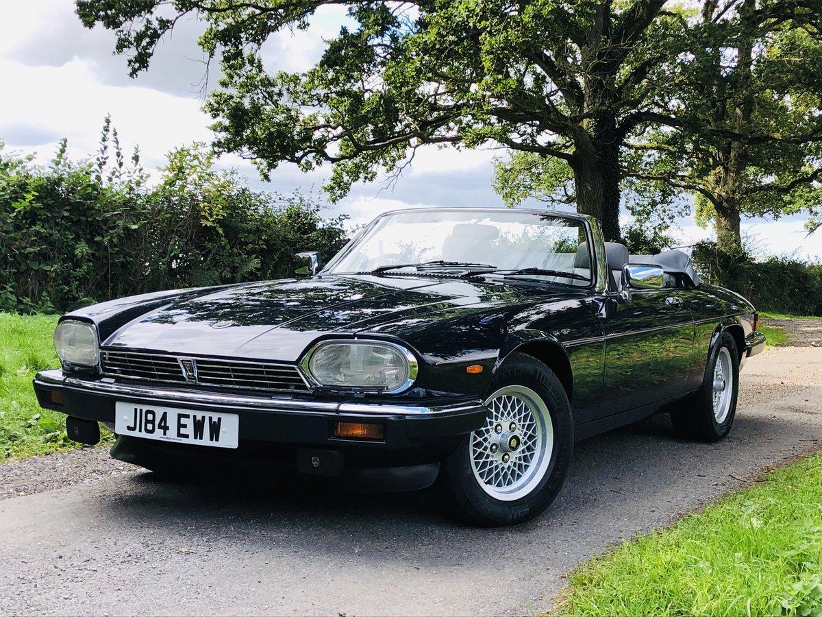 1992 Jaguar XJS 5.3L V12 Convertible 40000 miles For Sale (picture 1 of 6)