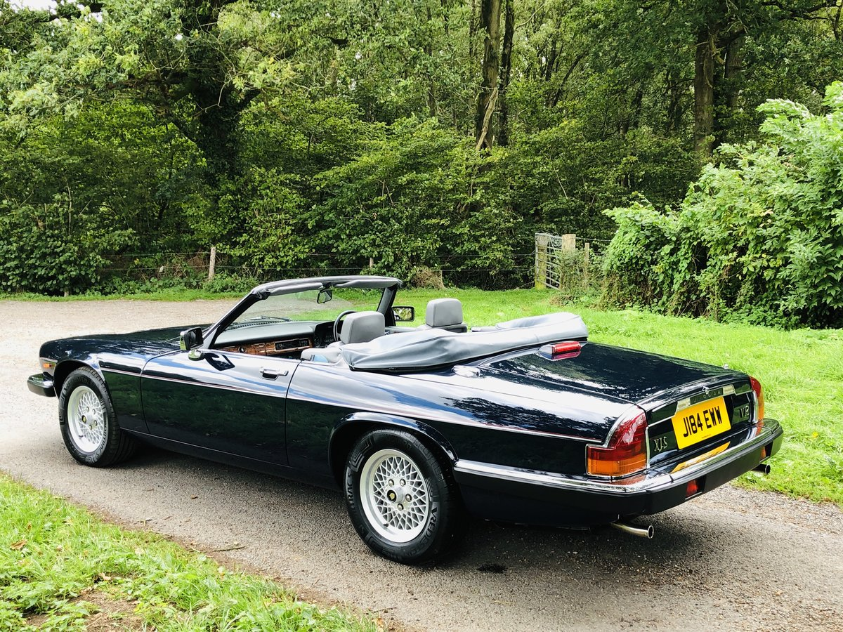 1992 Jaguar XJS 5.3L V12 Convertible 40000 miles For Sale (picture 2 of 6)