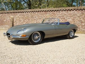 1962 Jaguar E-Type 3.8 Series 1 Convertible matching numbers, res For Sale
