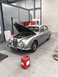 1966 Jaguar S-Type 3.8 Manual Right-Hand Drive