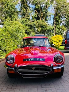 1972 E-Type S3 V12 Manual rhd Coupe with Awesome Number