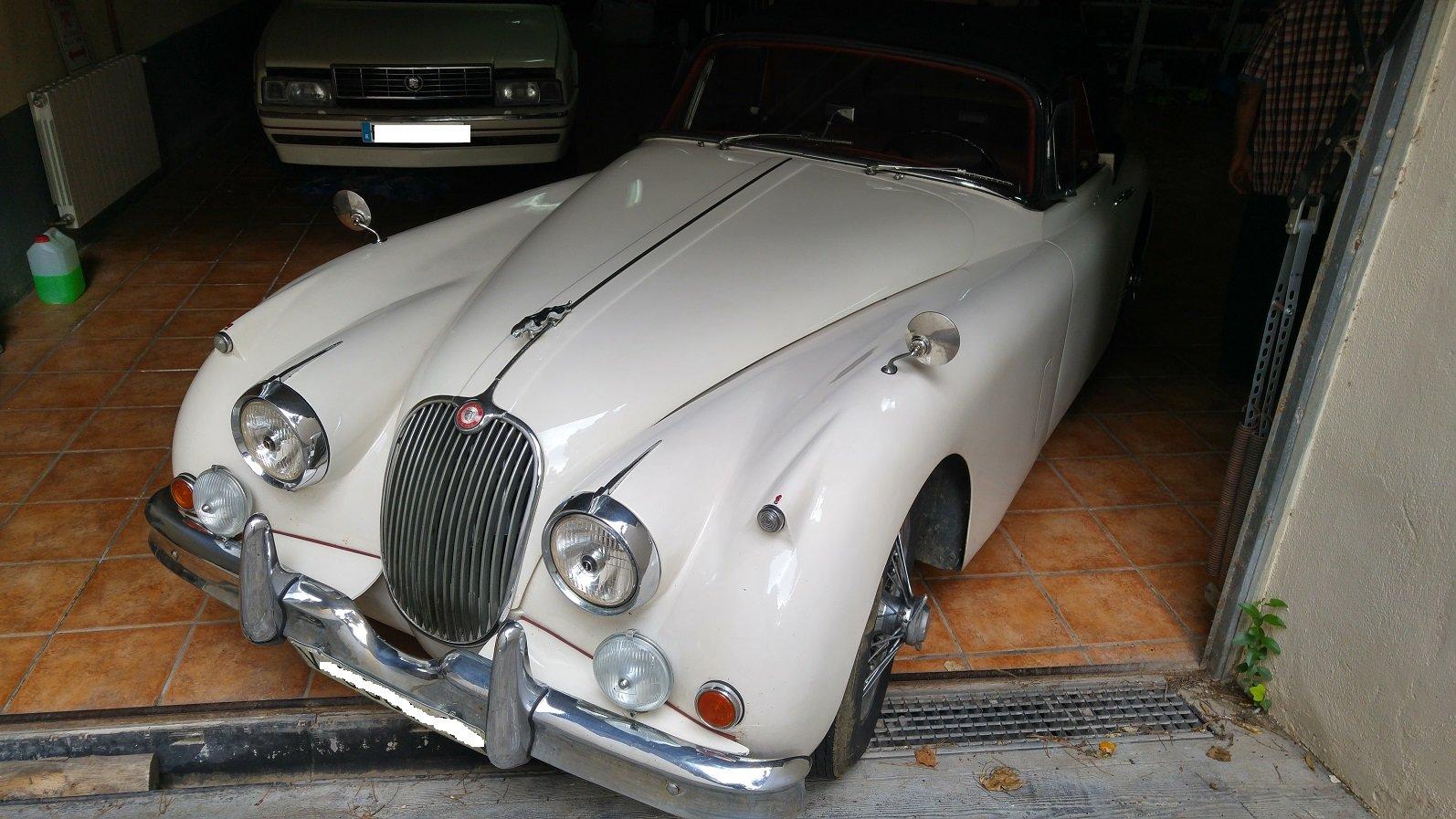 1958 Jaguar xk 150 cabriolet For Sale (picture 1 of 6)