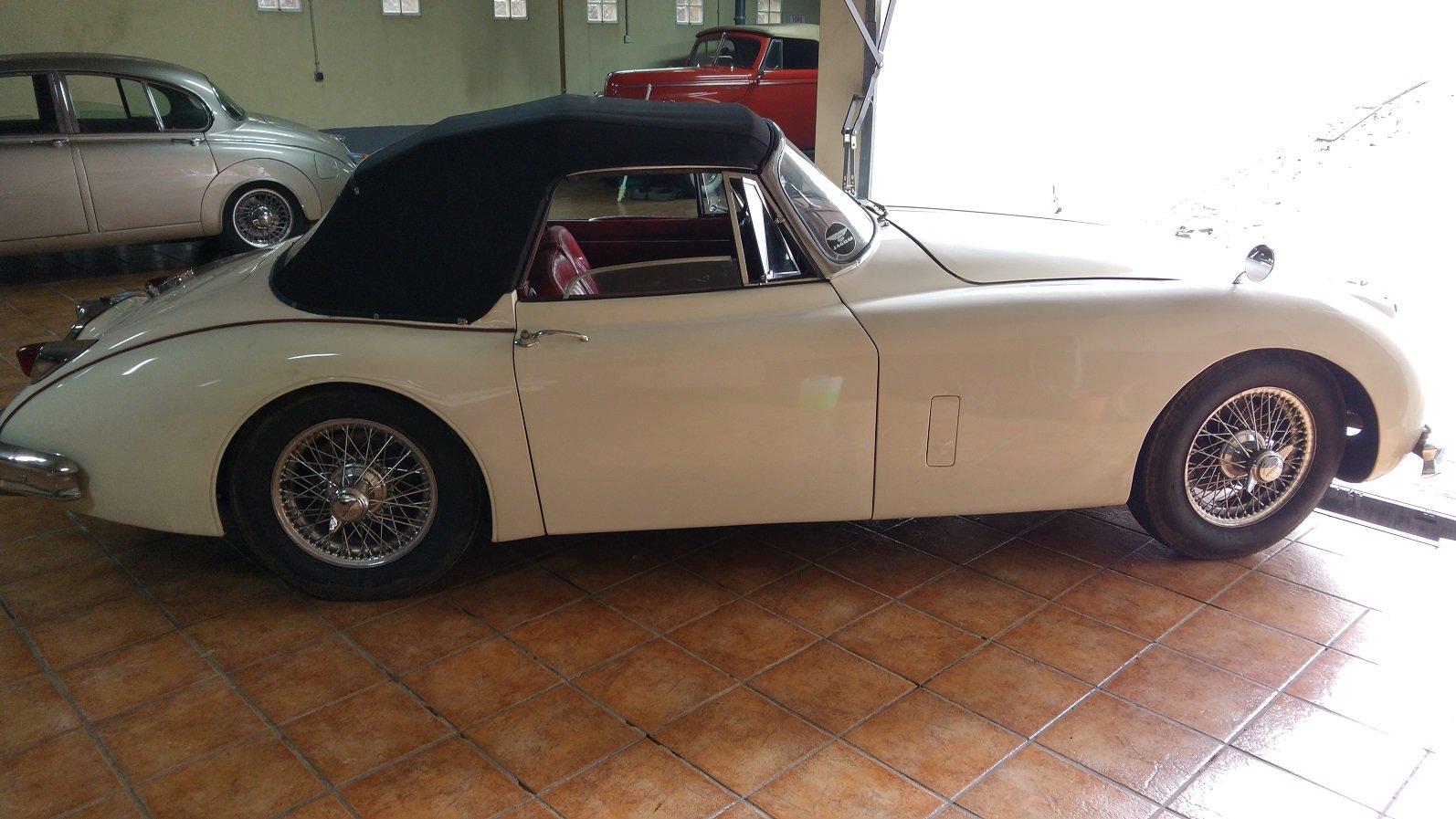 1958 Jaguar xk 150 cabriolet For Sale (picture 2 of 6)