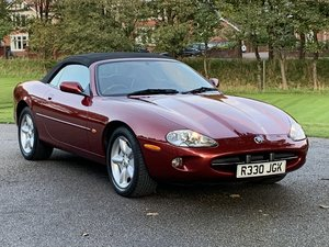 1997 JAGUAR XK8 CONVERTIBLE. JUST 41,000 MILES