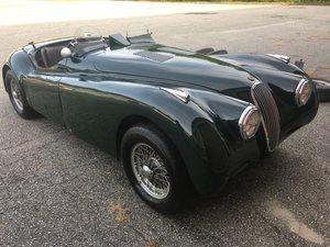 1950 Jaguar XK120 set up for track use C type engine specs
