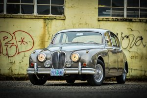 1964 Jaguar Mk II 3.8 Liter = LHD Manual Correct Grey $14k