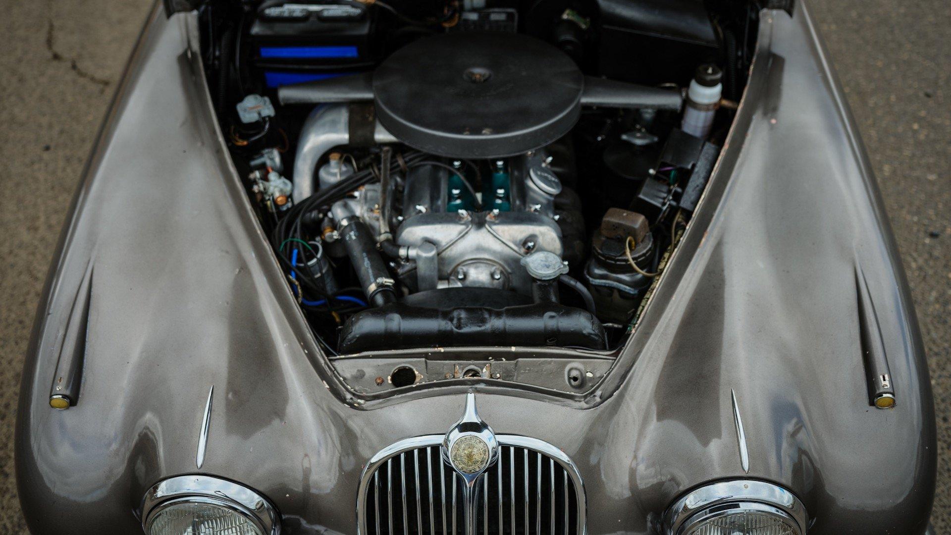 1964 Jaguar Mk II 3.8 Liter = LHD Manual Correct Grey $14k For Sale (picture 6 of 6)