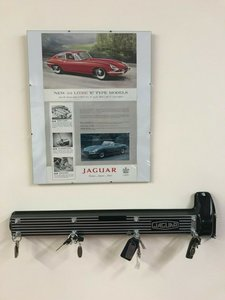 Custom Jaguar Cam Cover Key Holder
