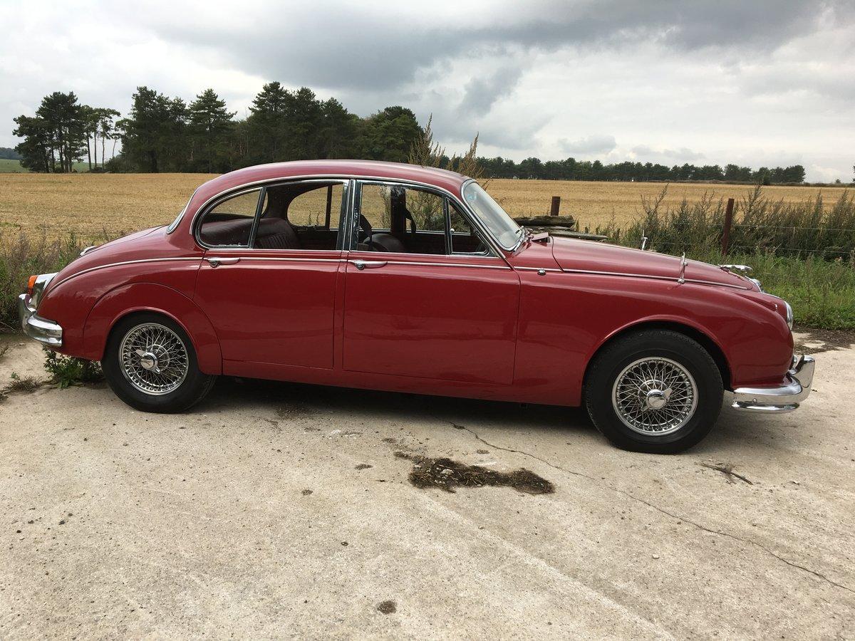 1964 Jaguar Mark II 2.4 litre, Manual with Overdrive SOLD ...