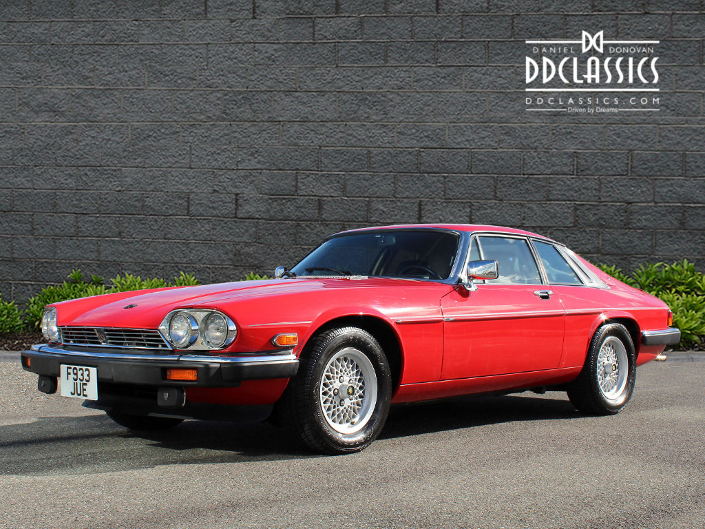 1989 Jaguar XJS V12 Coupe Just 3500 Miles! (LHD) For Sale (picture 1 of 19)