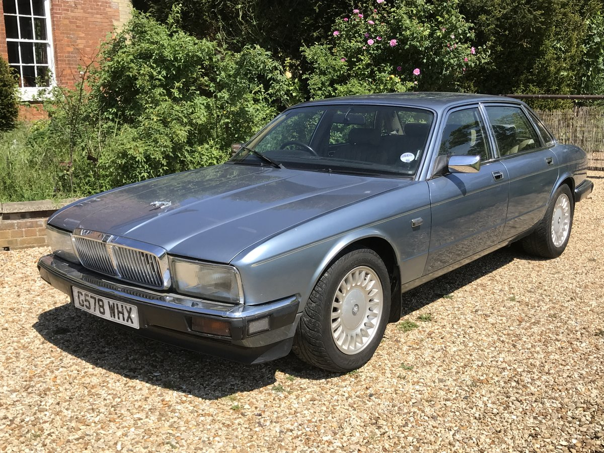 1989 Jaguar XJ40 Sovereign 3.6 Spares or Repairs For Sale (picture 1 of 6)