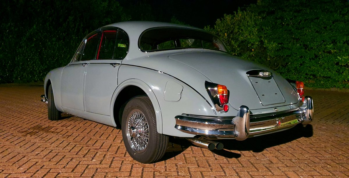 1961 Jaguar Mk2 3.8 Manual w o/d For Sale (picture 3 of 6)