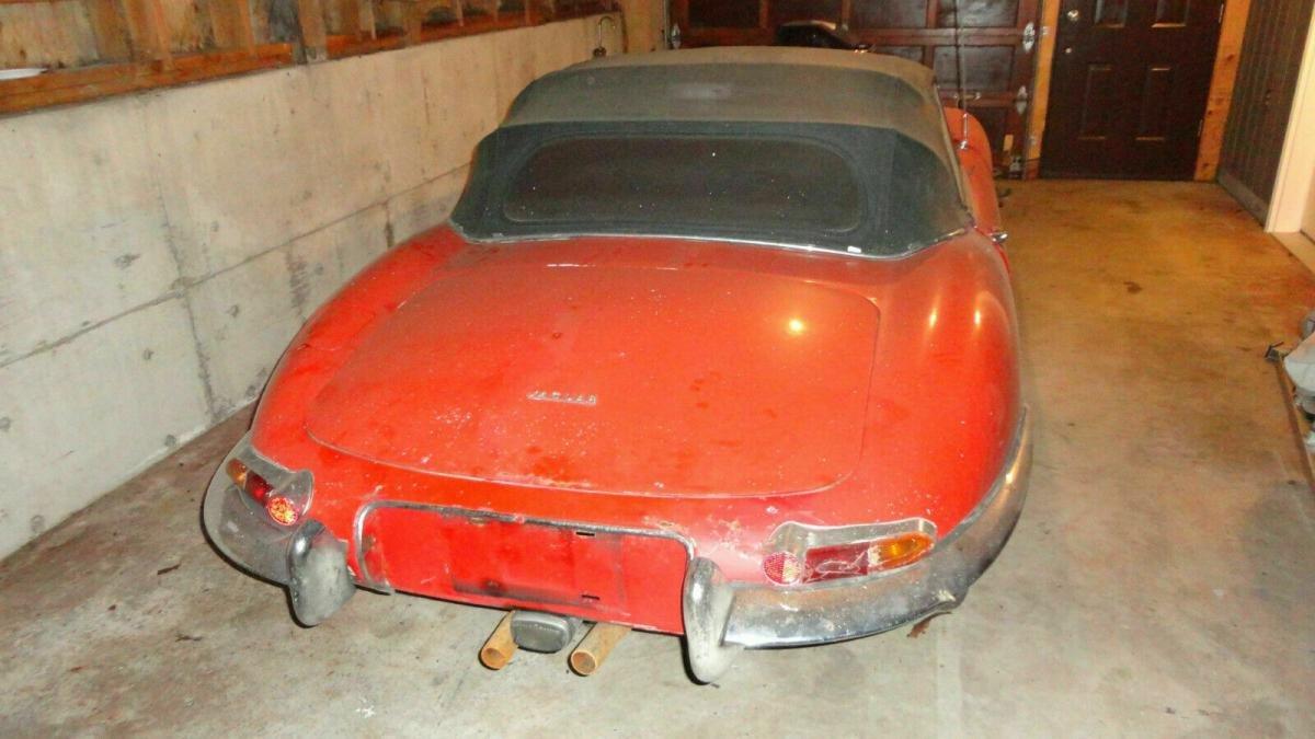 1961, flat floor Jaguar e type roadster  For Sale (picture 3 of 6)