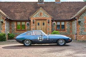 Jaguar 3.8 Series 1 E-Type FHC FIA Competition Car