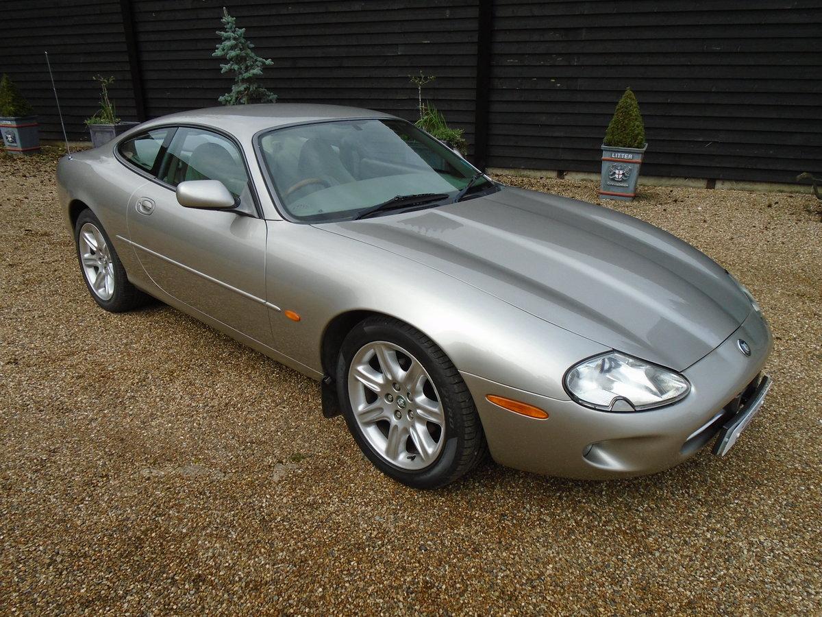 1998 Jaguar XK8 4.0 Auto, superb, FSH, 57k. (S) reg For Sale (picture 1 of 6)